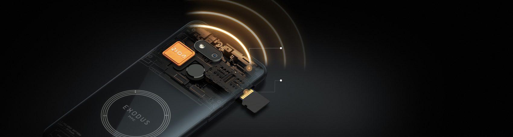 HTC exodus 1s cryptofalka