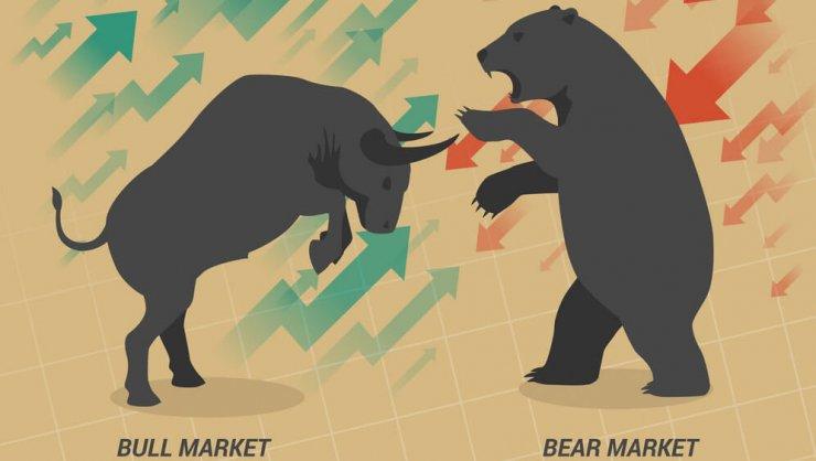 bitcoin árfolyam medve vs bika