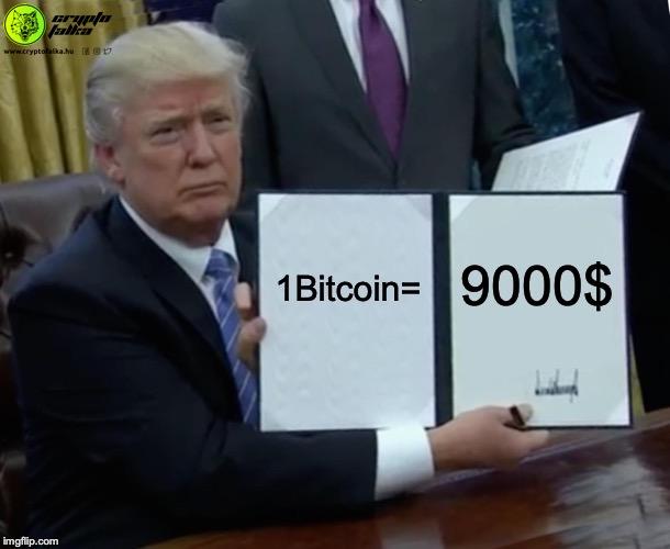 9000 dollár felett a Bitcoin