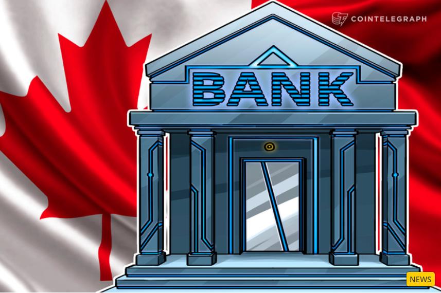 Kanada legnagyobb bankja kriptovaluta váltót indít