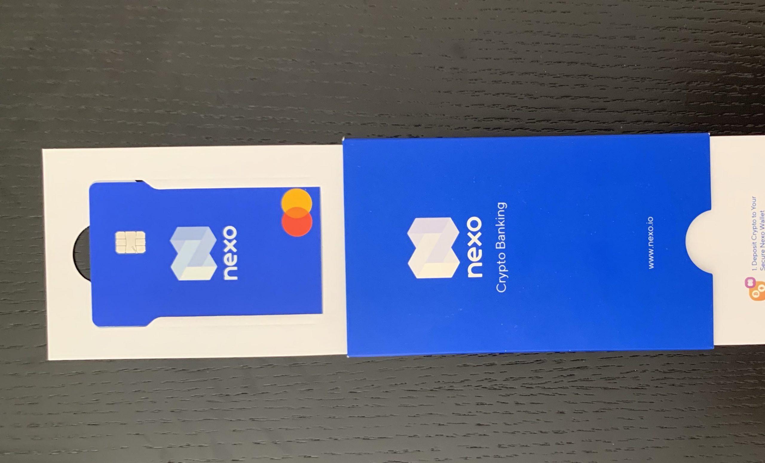 Nexo hitelkártya I Cryptofalka