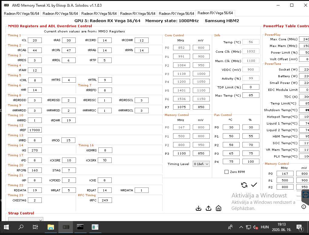 AMD vega 56 beállítása I Cryptofalka