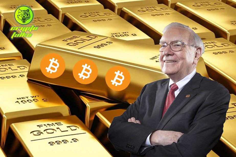 Warren buffett arany bitcoin I Cryptofalka
