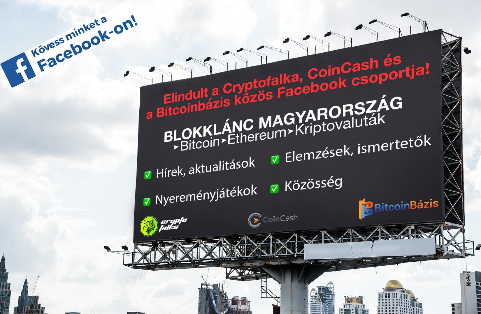 Blokklánc magyarország facebook I Cryptofalka