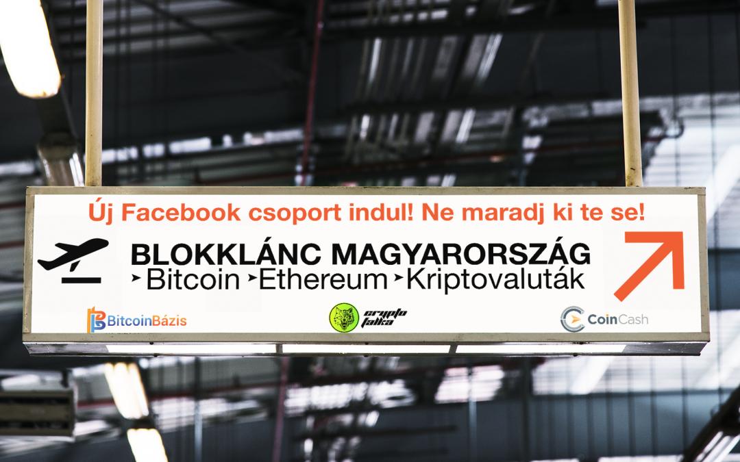 Elindult a Blokklánc Magyarország közössége a Facebookon