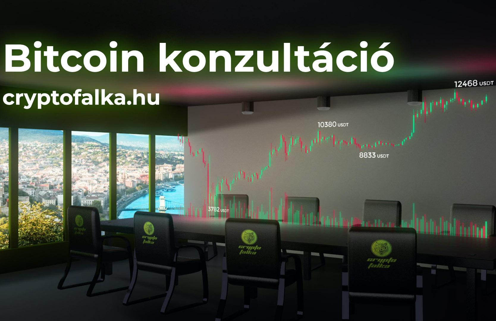 Bitcoin és kriptovaluta konzultáció I Cryptofalka