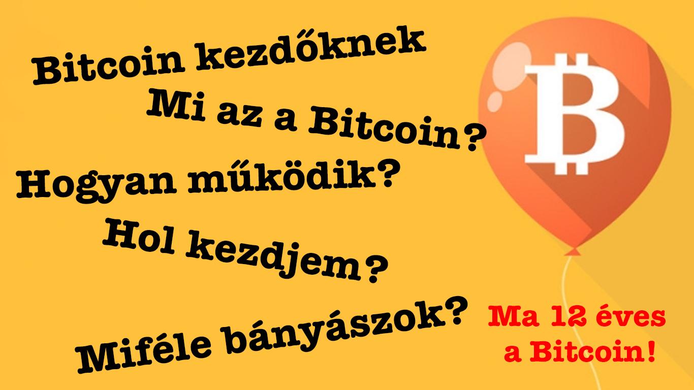 Mi az a Bitcoin, 12 szülinap I Cryptofalka