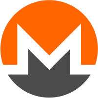 Monero (XMR) coin logó I Cryptofalka