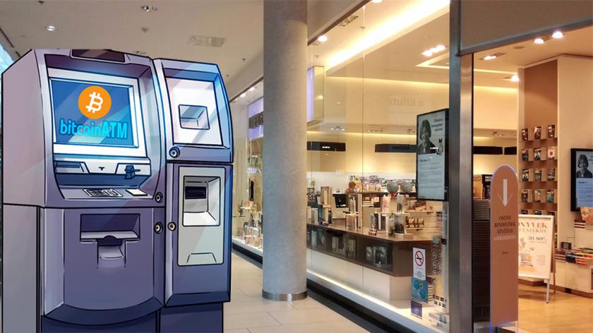 Bitcoin és kriptovaluta ATM I Cryptofalka