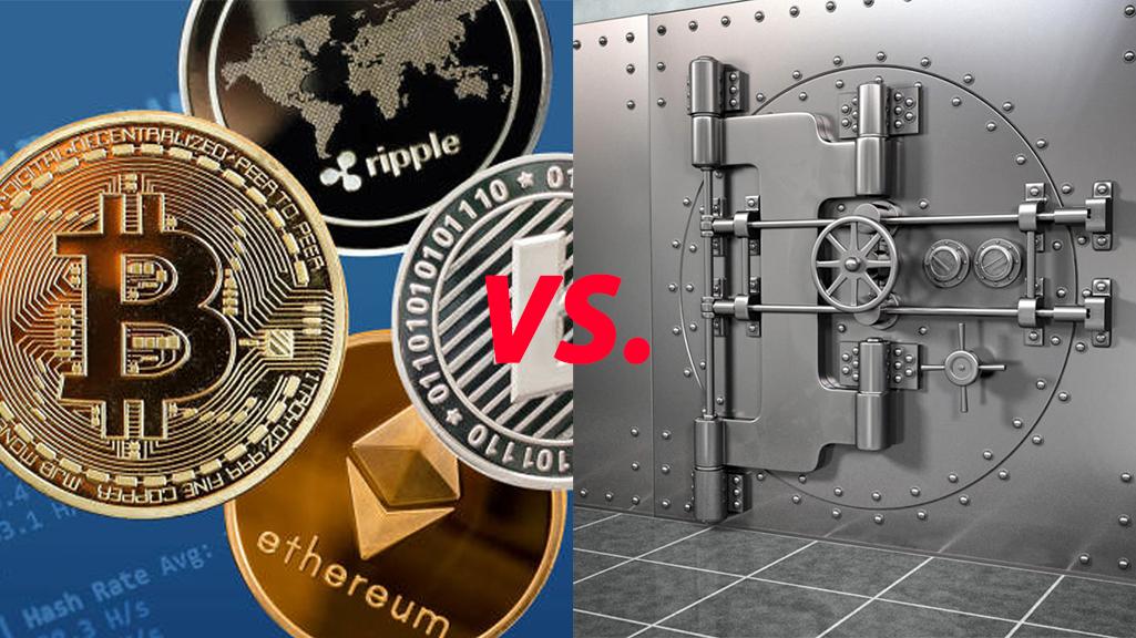 Crypto vs bankrendszer I Cryptofalka