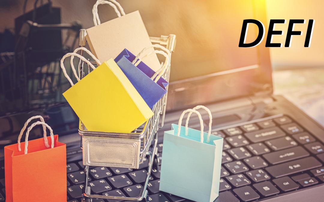 A DeFi-vel az e-kereskedelmi szektor új szintekre léphet