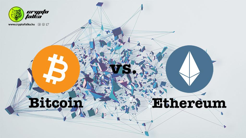 Ethereum vs Bitcoin I Cryptofalka