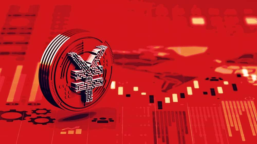 kínai digitális yüan 300 millio dollár forgalom I Cryptofalka