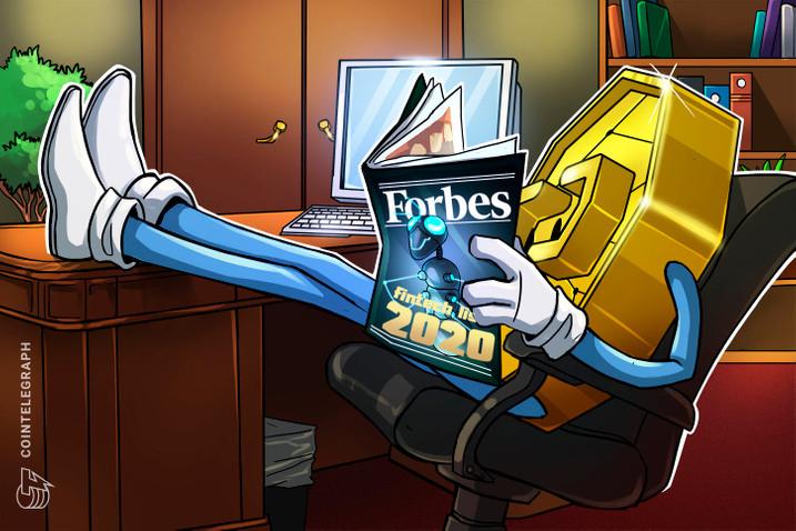 Forbes magazin 30 under 30 I Cryptofalka
