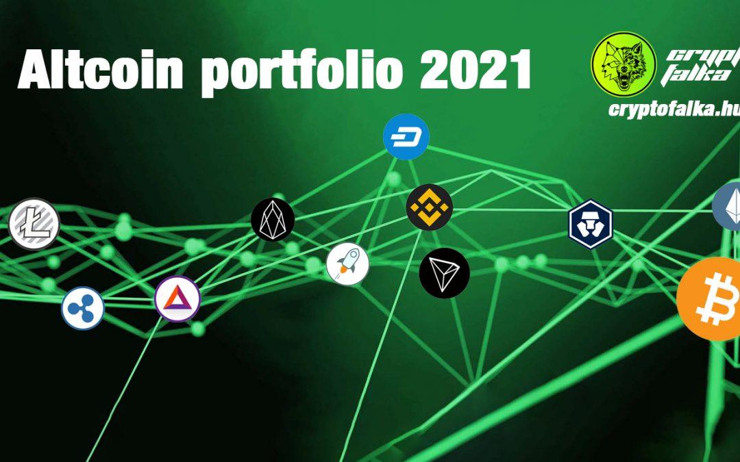 Milyen altcoin portfólióban célszerű 2021-ben gondolkozni?