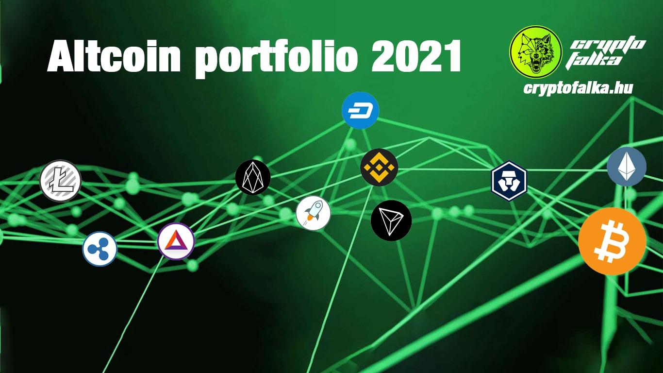 Altcoin portfolio 2021 I Cryptofalka