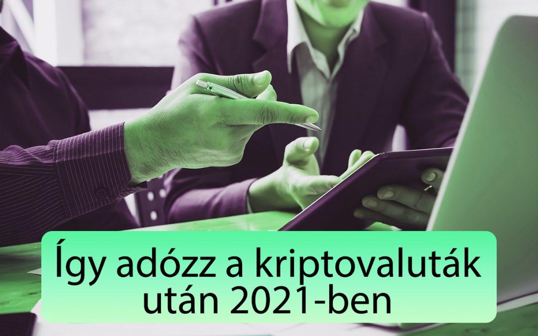 Bitcoin és kriptovaluta adózás ultimate kisokos 2021