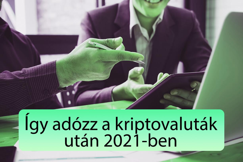 Bitcoin és kriptovaluta adózás 2021 I Cryptofalka