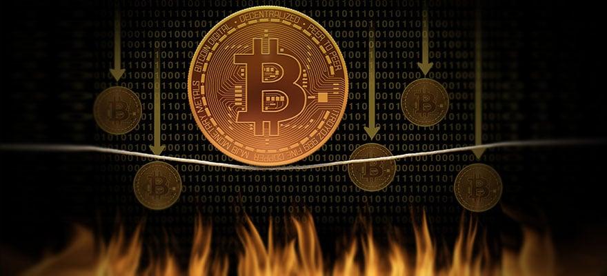 bitcoin csökkenés I Cryptofalka