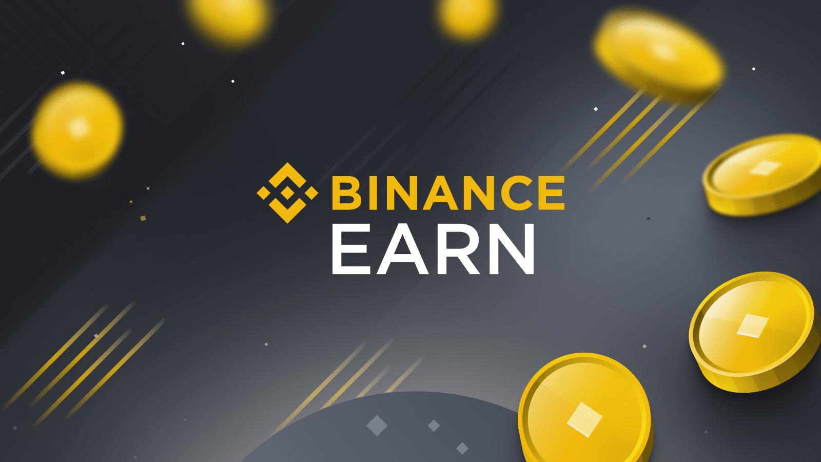 binance earn