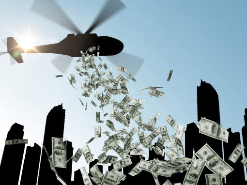 helikopterpénz vs bitcoin
