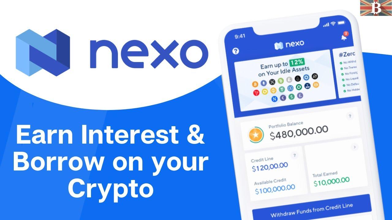 Nexo kriptovaluta kamatok I Cryptofalka