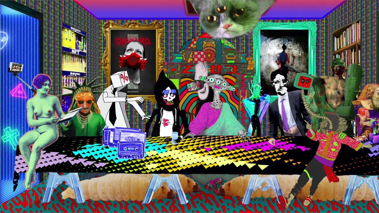 NFT digitális rajz I Cryptofalka