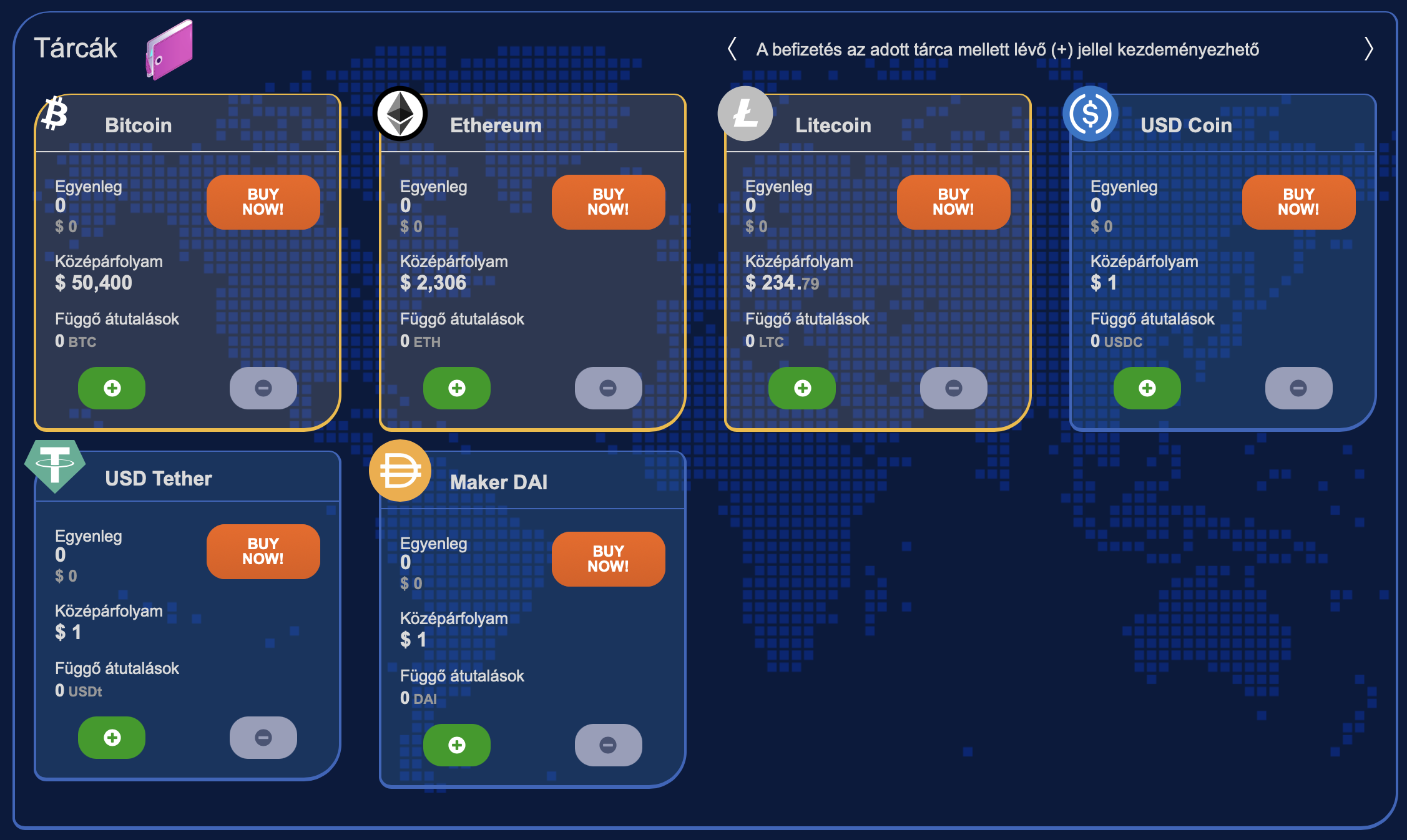 BitPadre kriptovaluta tárcák I Cryptofalka