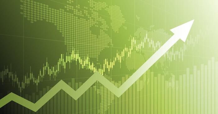 Stock rising I Cryptofalka