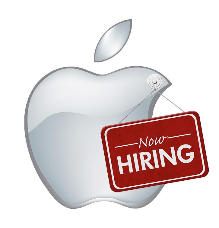 Apple hiring