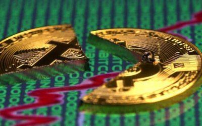 Tőkeáttétes likvidálások is erősítik a Bitcoin esését