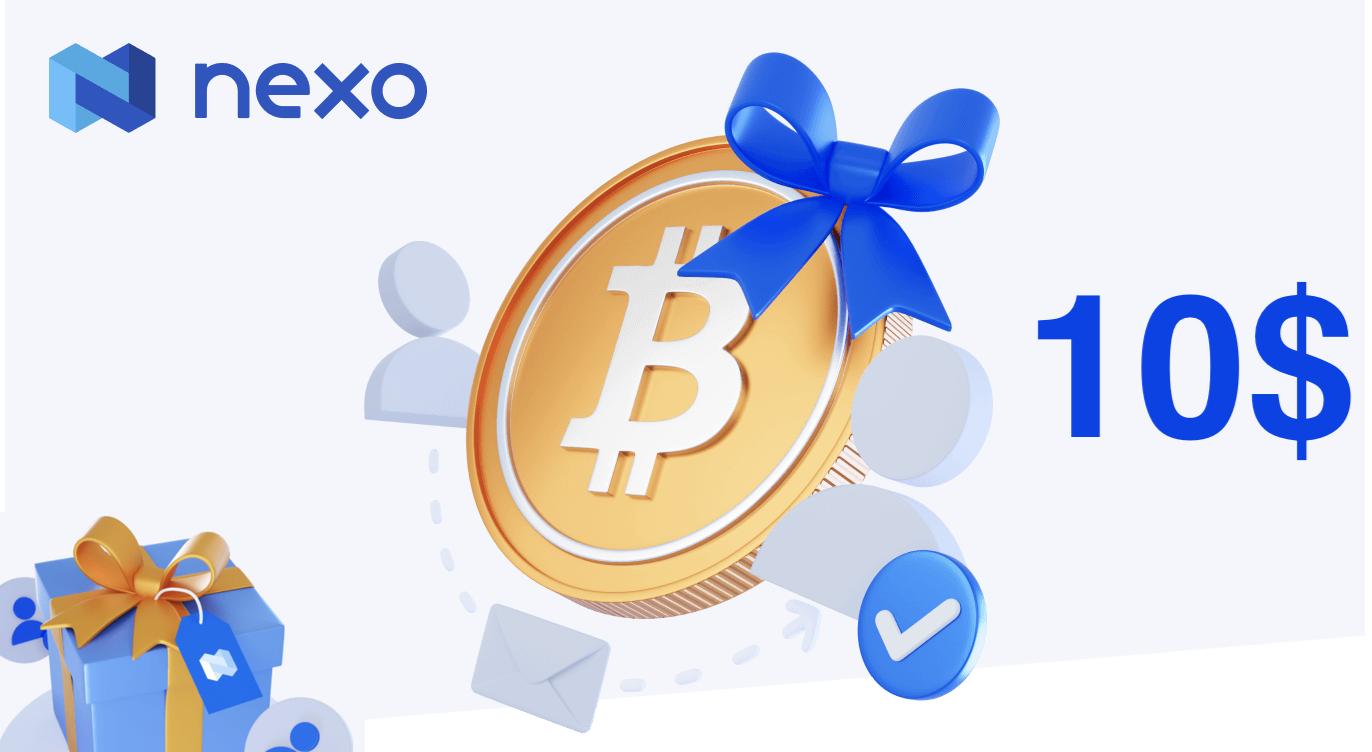 Nexo referral I Cryptofalka