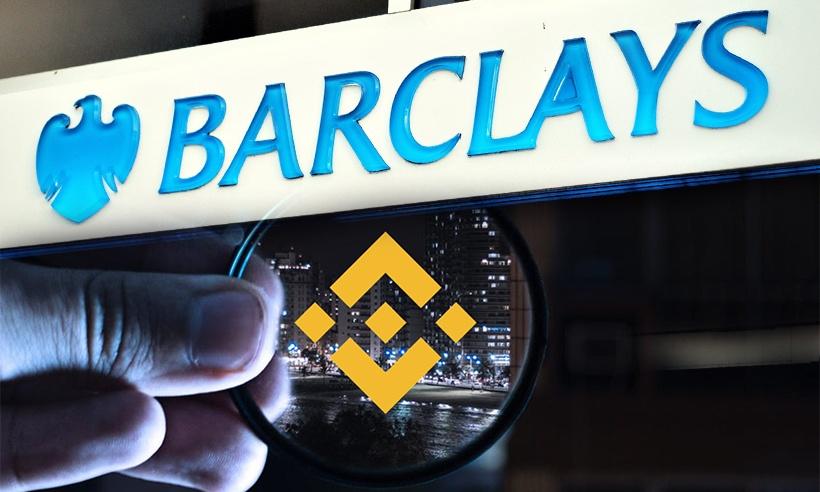 Barclays korlátozza a Binance tőzsdét I Cryptofalka