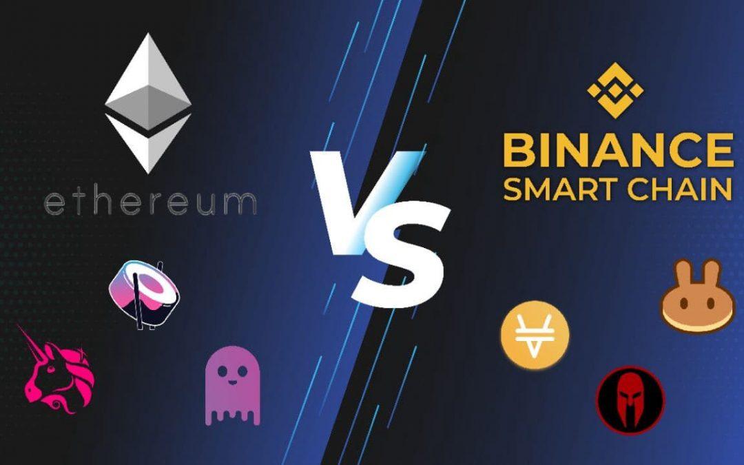 Binance Smart Chain vs. Ethereum. Mi a különbség?