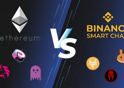 bsc vs ethereum | Cryptofalka