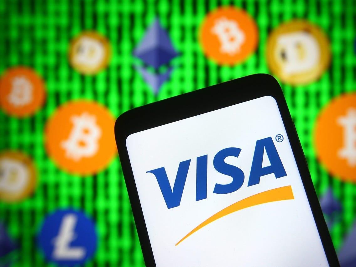 Visa kripto fizetés I Cryptofalka
