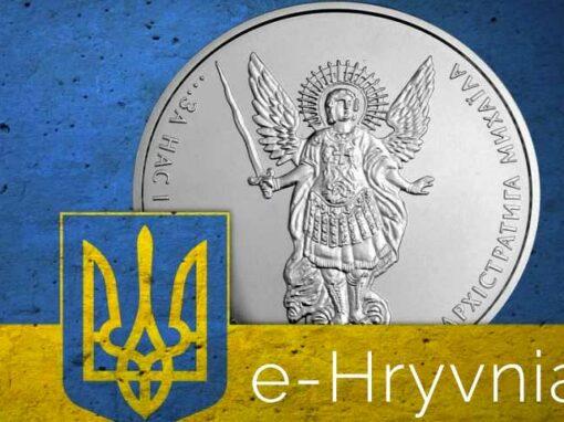 E-hryvnia I Cryptofalka