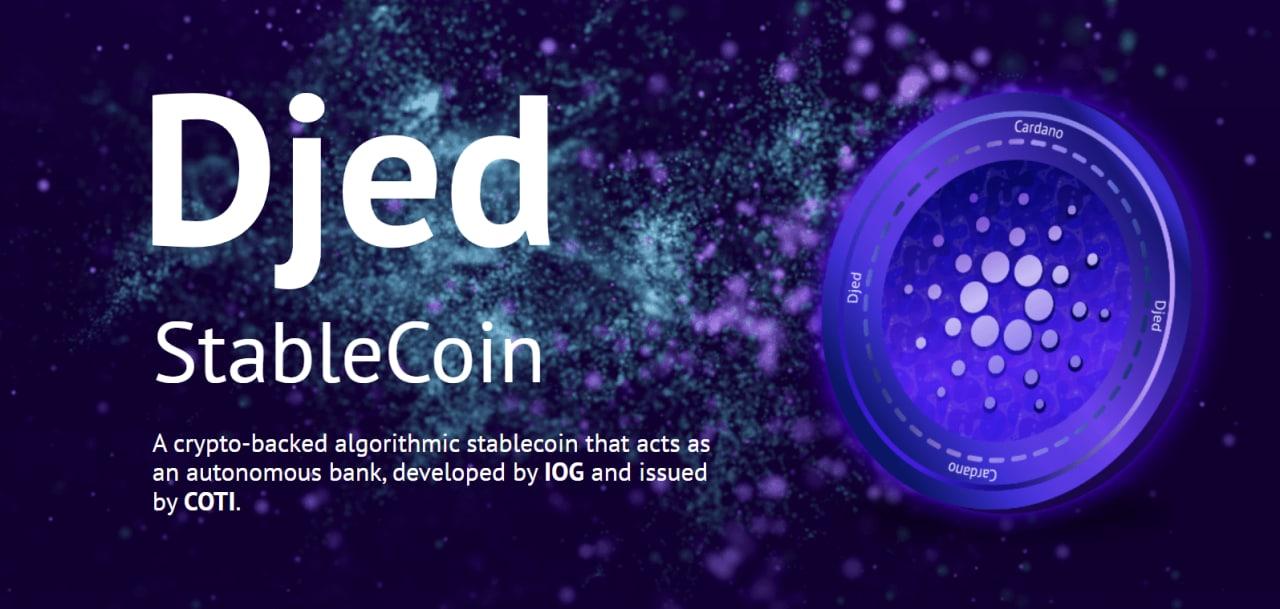 Djed stabilcoin | Cryptofalka
