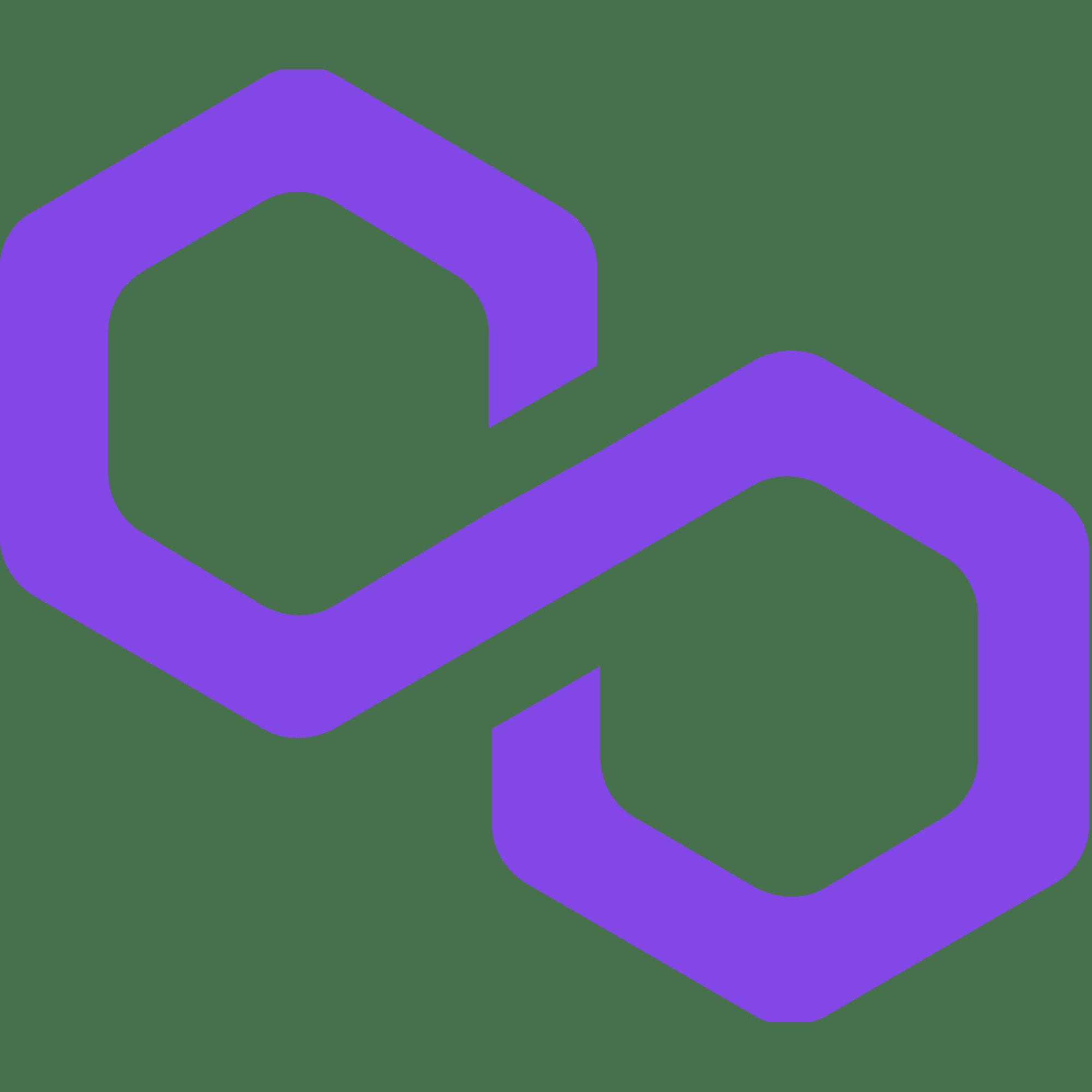 polygon matic coin logo I Cryptofalka