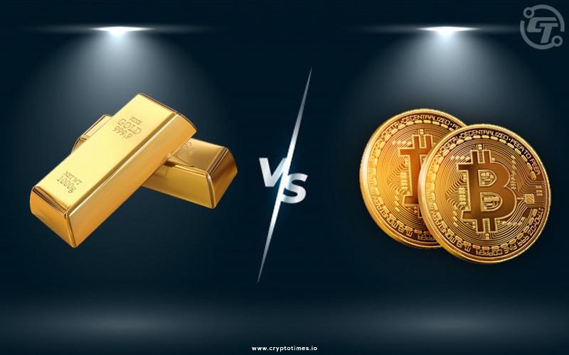 Bitcoin vs gold | Cryptofalka